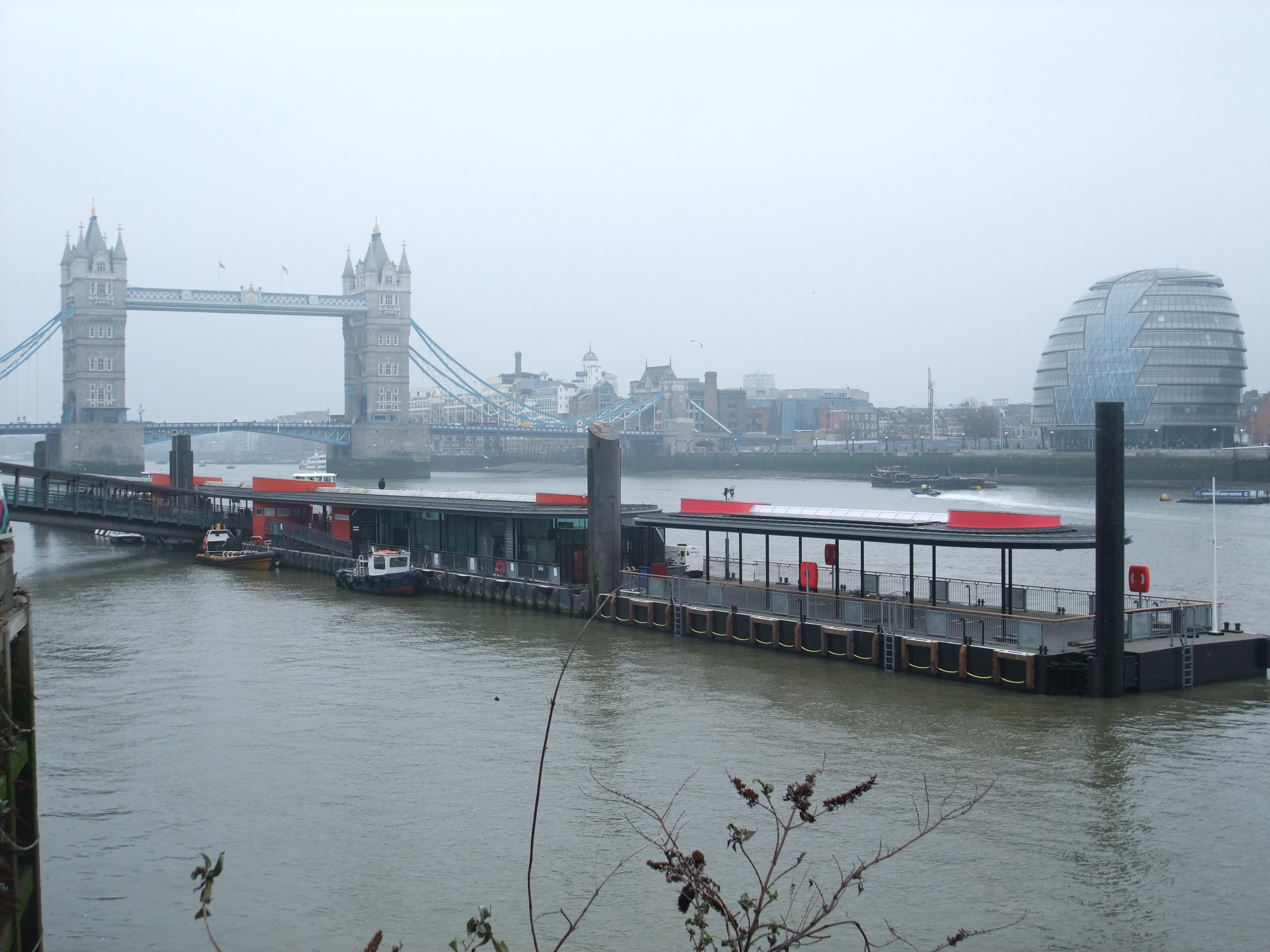 Tower Pier Extension River Thames Beckett Rankine