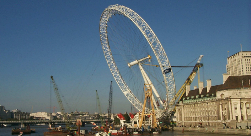 London Eye Pier Design