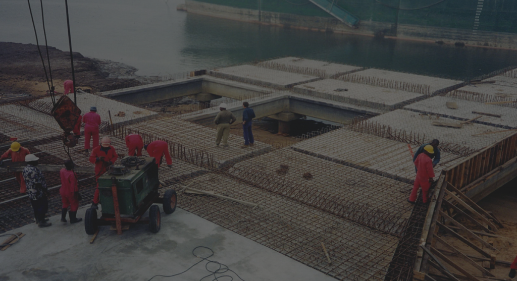 floating cement storage terminals