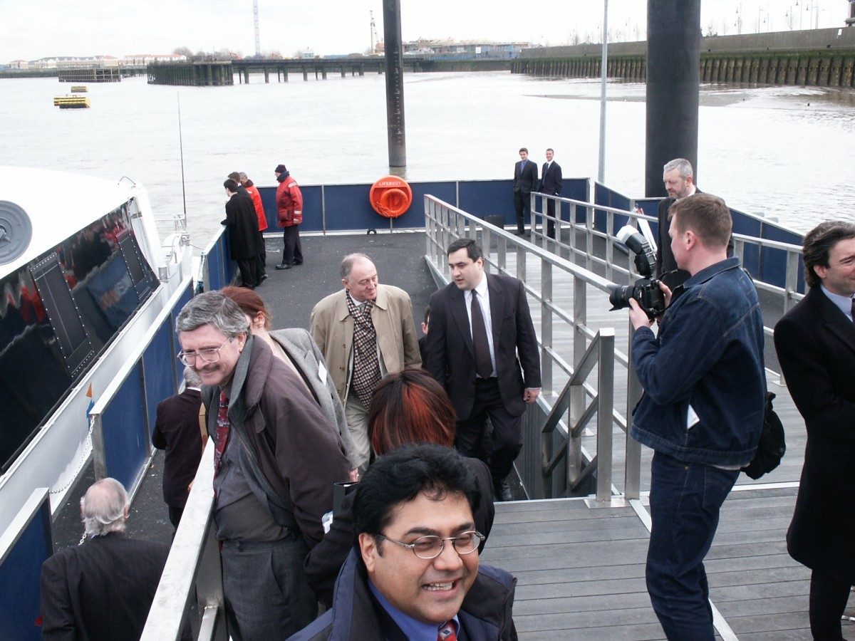 Royal Arsenal Pier Opening