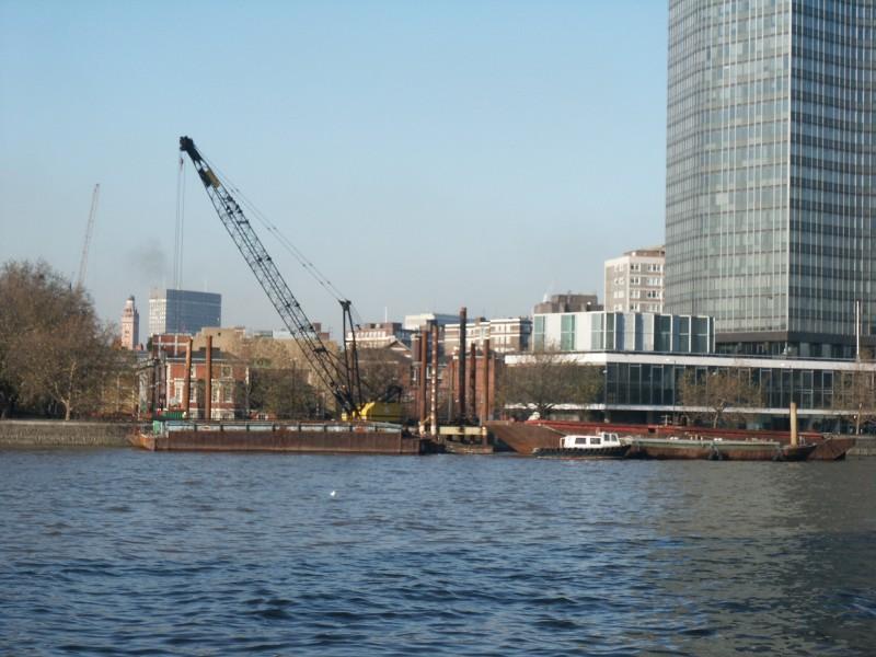 Millbank Millennium Pier Construction Started