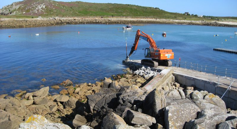 Porth Conger Quay Refurbishment