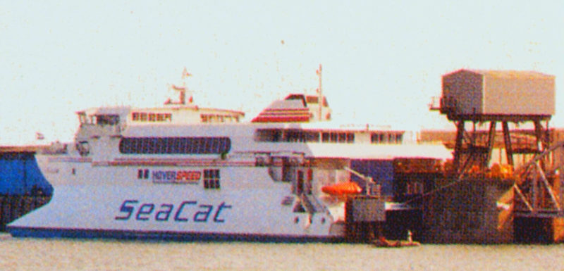 Folkestone SeaCat Berth