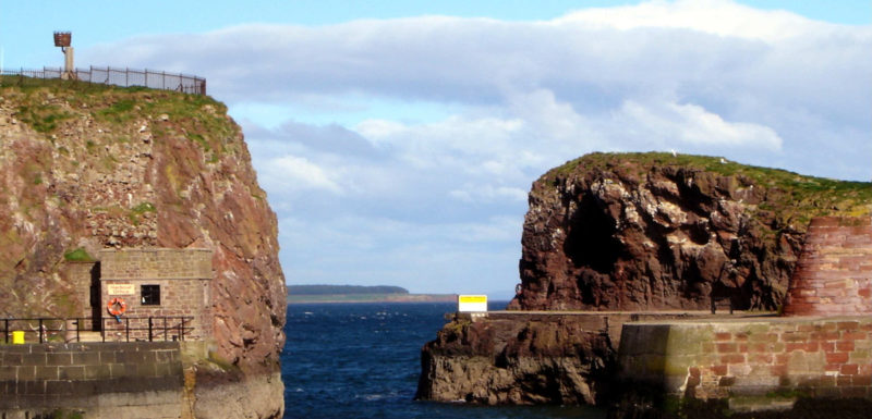 Dunbar Harbour Wall Survey