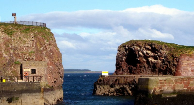 Dunbar Harbour Wall Survey
