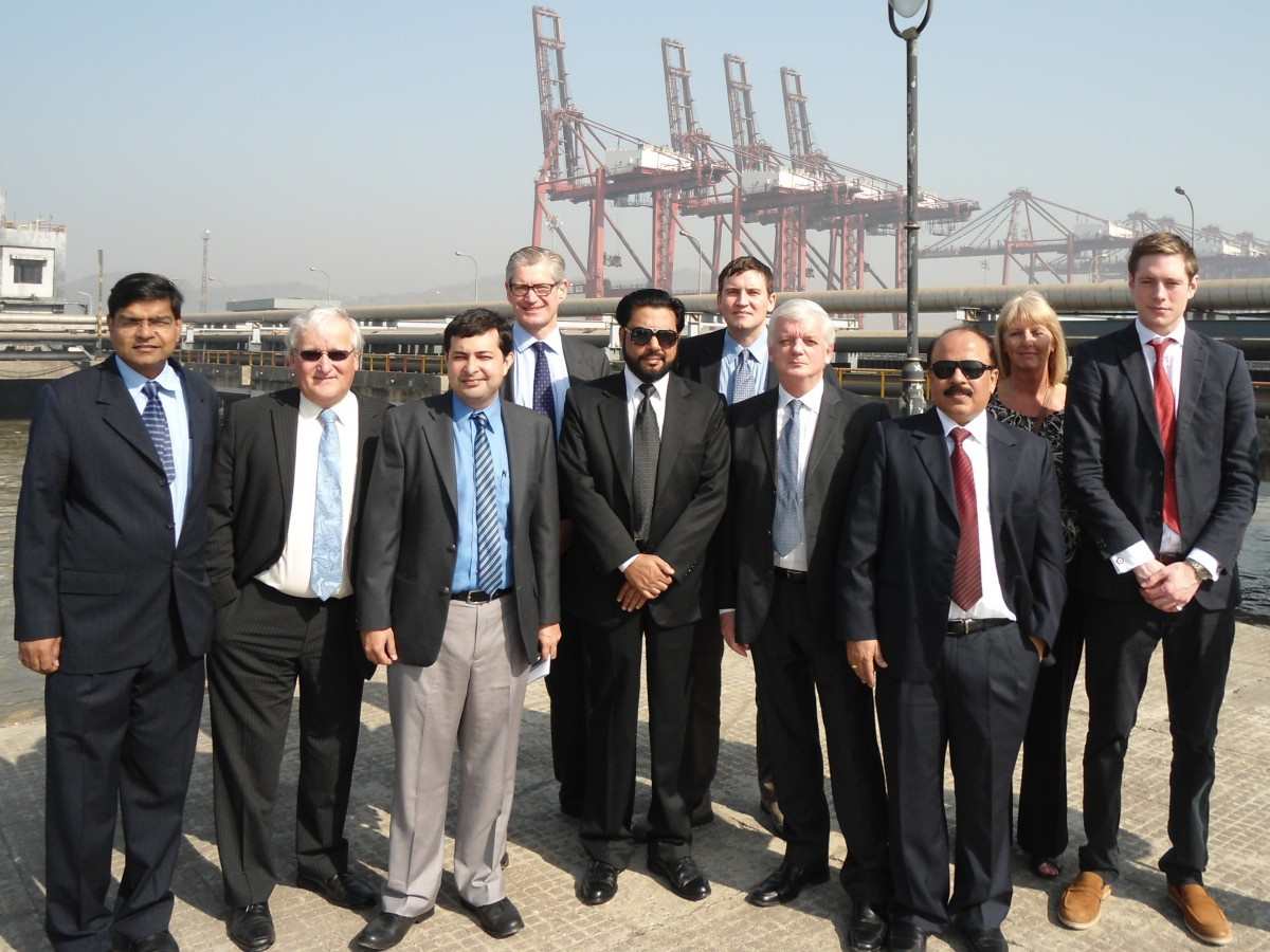 UKTI Ports Trade Mission to India