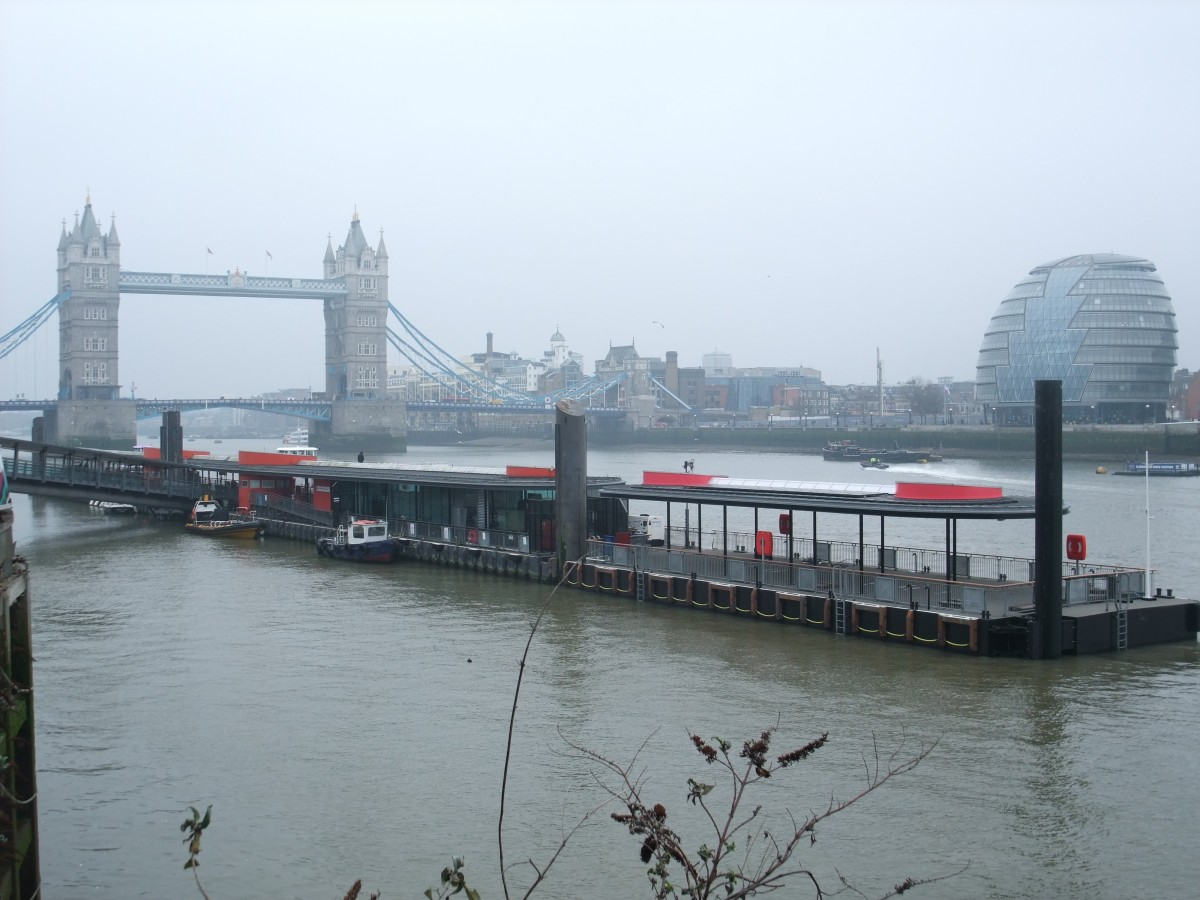 Tower Pier Extension, River Thames
