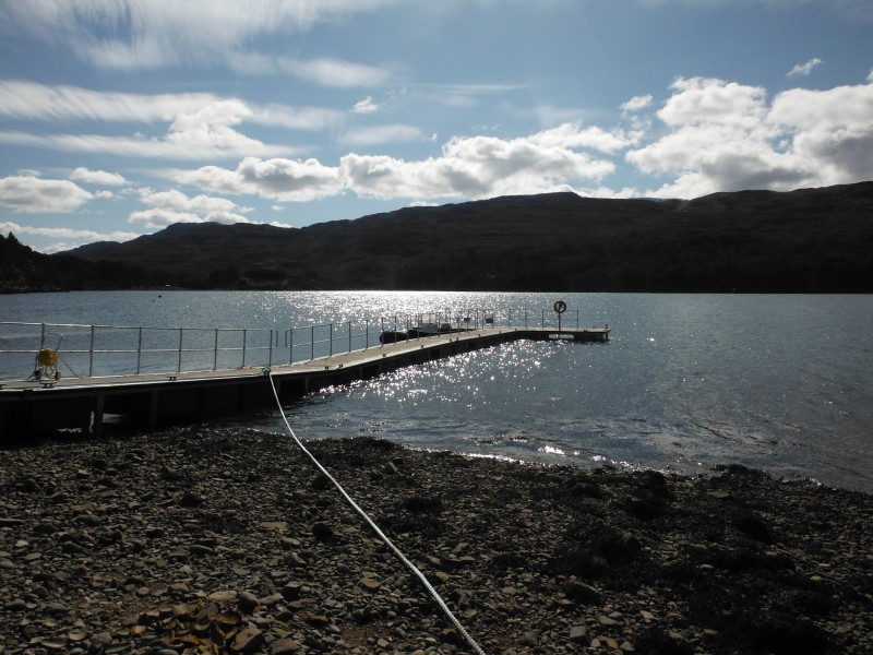 Official opening of Shieldaig Pier