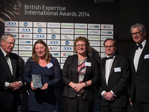 British Expertise International Awards 2014