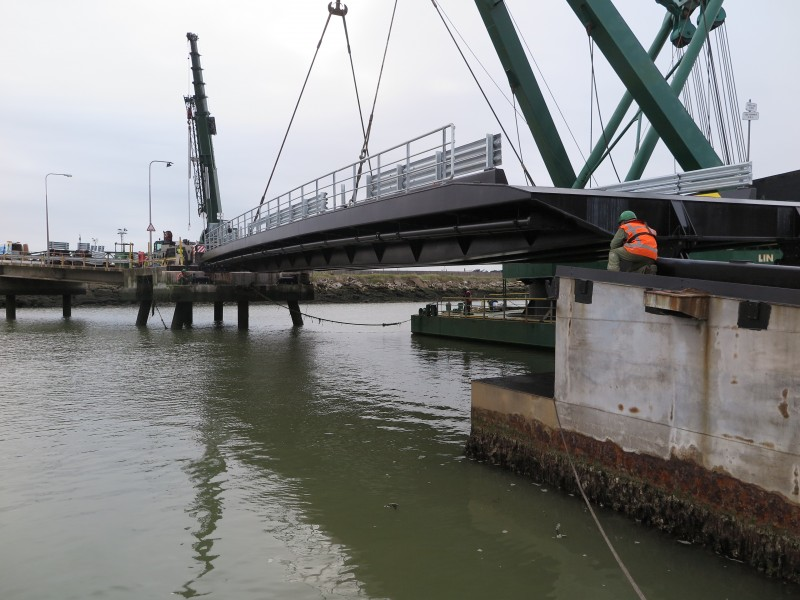 New Vehicle Linkspan for the Port of Sheerness