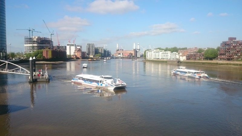 Passenger Transport On The Thames