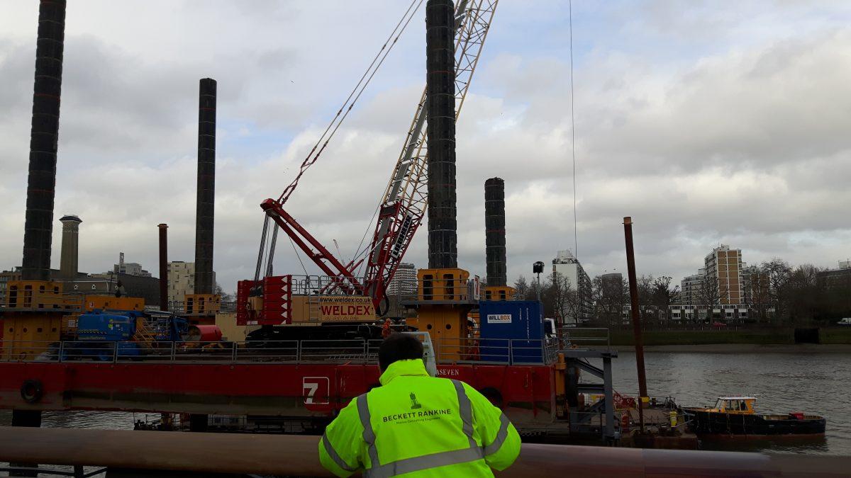 Battersea Powerstation Pier