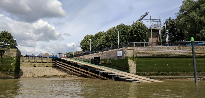 Shadwell Basin OAC's new slipway