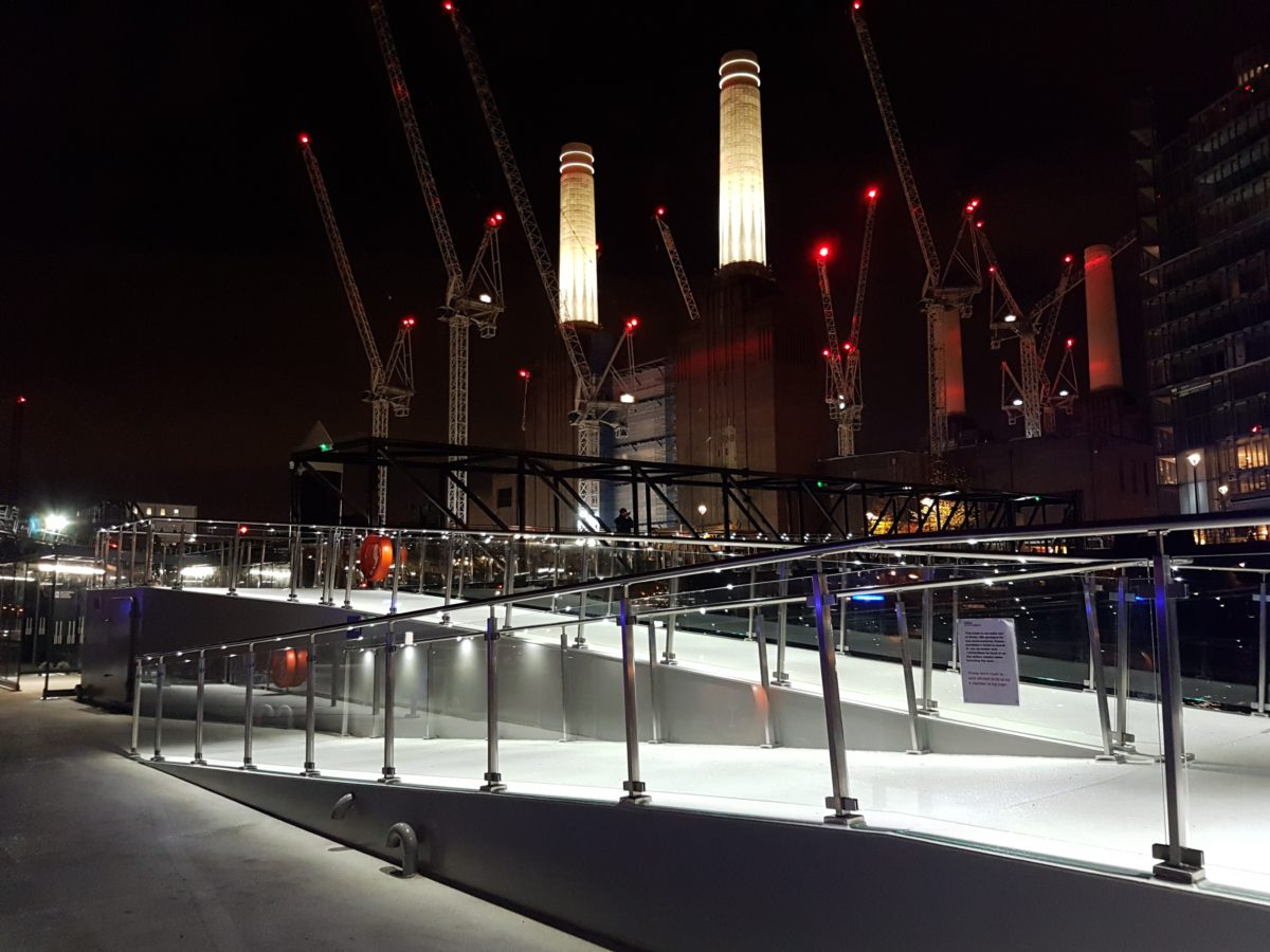 Battersea Power Station Pier Opens