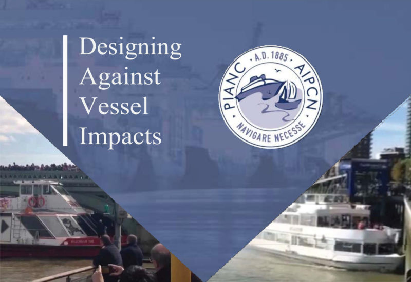 Designing against vessel impacts