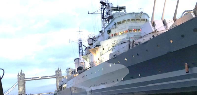 Happy Birthday HMS Belfast!