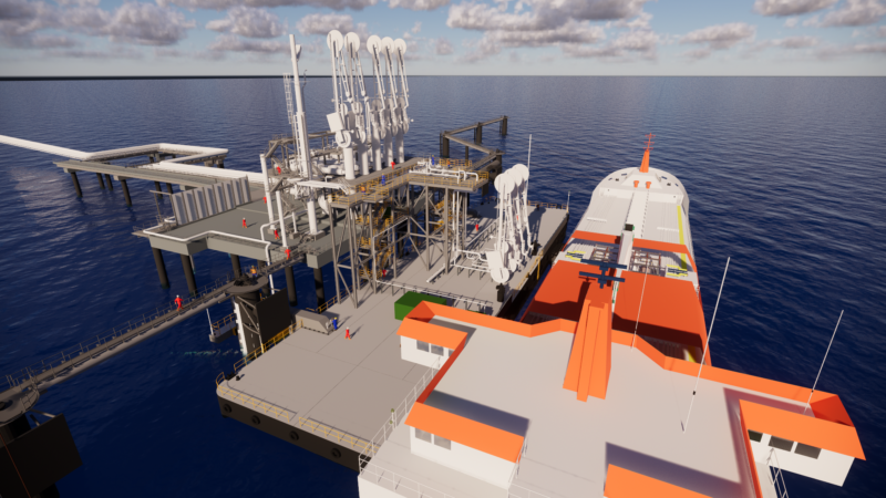 The UK's first LNG Bunkering Terminal