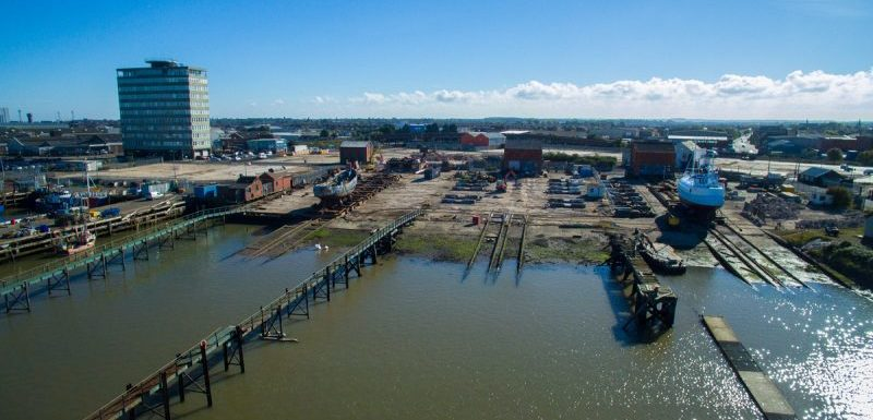 Grimsby Slipways for GFDE