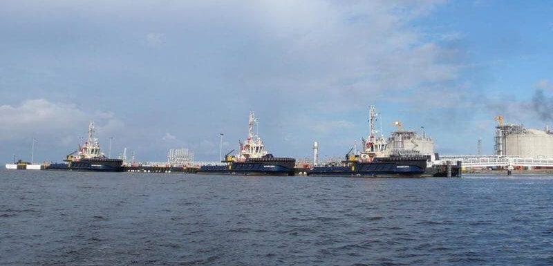 Angola LNG Temporary Berths