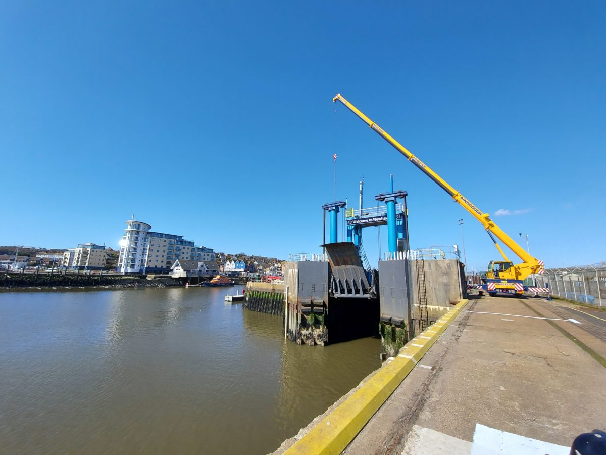 Newhaven Ro-Ro Linkspan Repairs